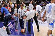 DESCRIZIONE : Campionato 2014/15 Dinamo Banco di Sardegna Sassari - Umana Reyer Venezia<br /> GIOCATORE : Luigi LaMonica<br /> CATEGORIA : Arbitro Referee Before Pregame Curiosità<br /> SQUADRA : AIAP<br /> EVENTO : LegaBasket Serie A Beko 2014/2015<br /> GARA : Dinamo Banco di Sardegna Sassari - Umana Reyer Venezia<br /> DATA : 03/05/2015<br /> SPORT : Pallacanestro <br /> AUTORE : Agenzia Ciamillo-Castoria/L.Canu