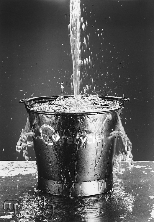 Water Pouring in Bucket