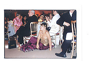 Hillary Alexandar, Indian Palace Ball, St James's Square, 8th July 2002© Copyright Photograph by Dafydd Jones 66 Stockwell Park Rd. London SW9 0DA Tel 020 7733 0108 www.dafjones.com