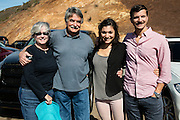 Courtney Blitch, Stephen Blitch, Emma Chammah, and Trey Dye on Mount Tamalpais; San Francisco, California
