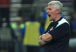 Head coach of N. Ireland Nigel Worthington at the fourth round qualification game of 2010 FIFA WORLD CUP SOUTH AFRICA in Group 3 between Slovenia and Northern Ireland at Stadion Ljudski vrt, on October 11, 2008, in Maribor, Slovenia.  (Photo by Vid Ponikvar / Sportal Images)