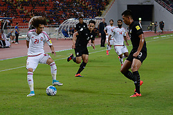 June 13, 2017 - Bangkok, Bangkok, Thailand - OMAR ABDULRAHMAN (L) of the UAE in action against Thailand's Pansa HEMVIBOON (R) during the FIFA World Cup 2018 qualifying soccer match between Thailand and the United Arab Emirates at the Rajamangala stadium in Bangkok, Thailand, 13 June 2017. (Credit Image: © Anusak Laowilas/NurPhoto via ZUMA Press)