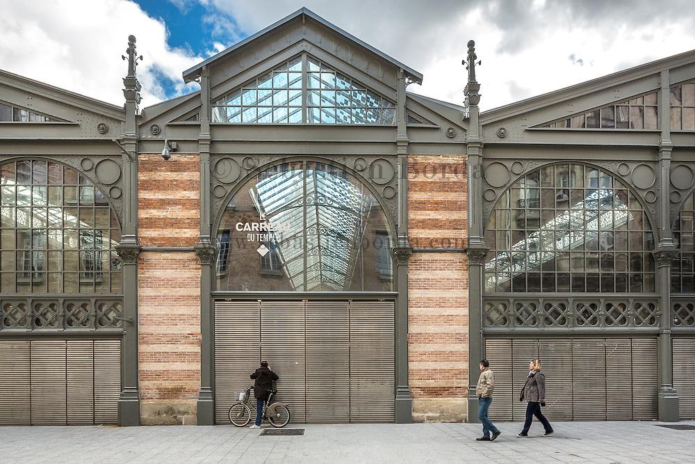 Bâtiment Le Carreau du Temple // Carreau du Temple indoor market building