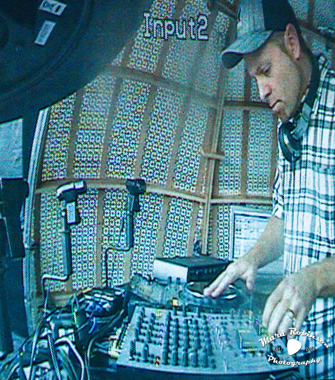 DJ Shadow at Pitchfork Music Festival 2011 by Mara Robinson