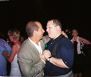 Ron Galotti and Harvey Weinstein <br />