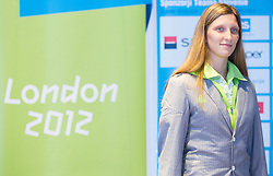 Franka Anic during presentation of Slovenian Olympic and Paralympic team for London 2012, on July 6, 2012 in Ljubljana's Castle, Ljubljana, Slovenia.  (Photo by Vid Ponikvar / Sportida.com)