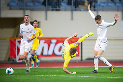 Slobodan Vuk of Domzale during football match between NK Domzale and NK Triglav in Round #18 of Prva liga Telekom Slovenije 2019/20, on November 23, 2019 in Sports park Domzale, Slovenia. Photo by Sinisa Kanizaj / Sportida