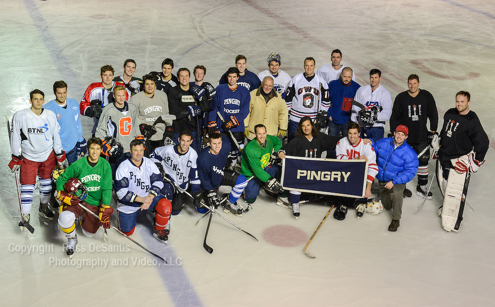The annual Pingry School alumni ice hockey game was held at the Beacon Hill Club in Summit on Friday, November 29,2013. /Russ DeSantis Photography and Video, LLC