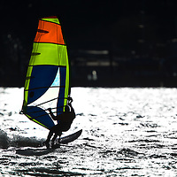 Windsurfing at Sandy Hook National Park New Jersey