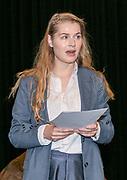 2019, June 04. JvE Studio, Almere, The Netherlands. Johanna Hagen at the press presentation of Mammoet.
