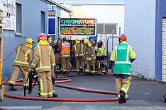 Tauranga-Fire at plumbing suppliers, Tauranga City