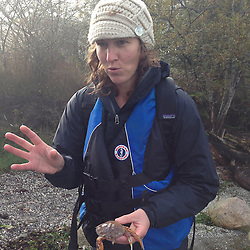 Naturalist Jolie Shea Talks Nature, Prevost Island, Gulf Islands, British Columbia, Canada