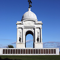 Pennsylvania Memorial, Gettysburg.<br />