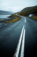 Curvy road at Iceland