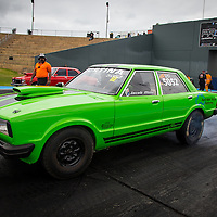 Jacob Mills (5052) in his Super Street Ford Cortina.