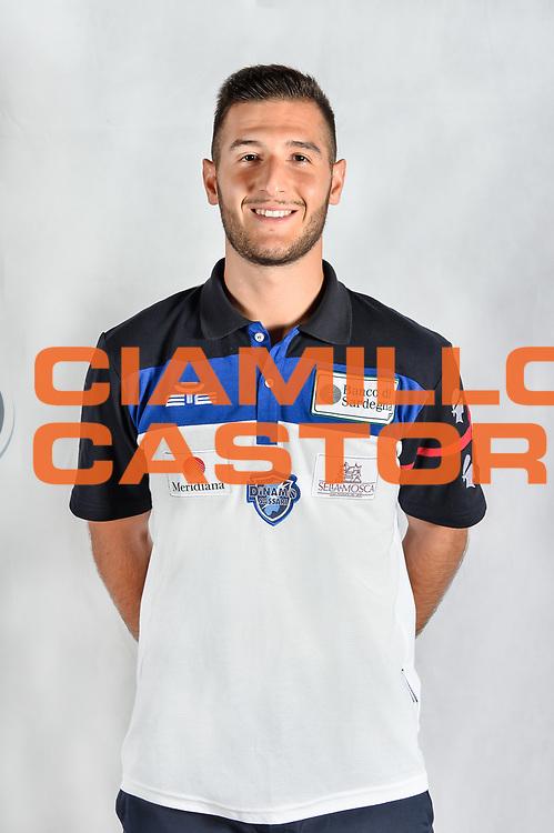 Marco Spissu<br /> Testine Busti Polo<br /> Banco di Sardegna Dinamo Sassari<br /> Olbia, 03/09/2017<br /> Foto L.Canu / Ciamillo-Castoria