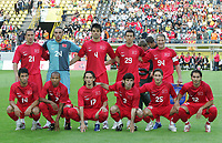 Fotball<br /> Tyrkia<br /> Foto: imago/Digitalsport<br /> NORWAY ONLY<br /> <br /> 05.06.2007  <br /> <br /> Lagbilde Tyrkia<br /> Mannschaftsfoto Türkei, hi.v.li.: Emre Asik, Torwart Hakan Arikan, Gökhan Zan, Umut Bulut und Tugay Kerimoglu, Vorn: Arda Turan, Mehmet Aurelio, Tuncay Sanli, Ibrahim Üzülmez und Hamit Altintop