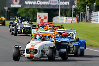 #62 Ben Tuck Caterham Supersport during the ITC Compliance Caterham Supersport Championship at Oulton Park, Little Budworth, Cheshire, United Kingdom. August 13 2016. World Copyright Peter Taylor/PSP.