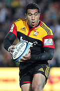 Chiefs' Mils Muliaina in action in his 100th Super Rugby appearance. Super 15 rugby union match, Chiefs v Stormers at Waikato Stadium, Hamilton, New Zealand. Saturday 14th May 2011. Photo: Anthony Au-Yeung / photosport.co.nz
