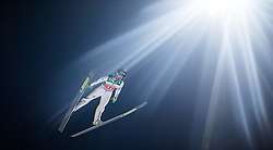 06.01.2015, Paul Ausserleitner Schanze, Bischofshofen, AUT, FIS Ski Sprung Weltcup, 63. Vierschanzentournee, Finale, im Bild Peter Prevc (SLO) // Peter Prevc of Slovenia during Final Jump of 63rd Four Hills <br /> Tournament of FIS Ski Jumping World Cup at the Paul Ausserleitner Schanze, Bischofshofen, Austria on 2015/01/06. EXPA Pictures &copy; 2015, PhotoCredit: EXPA/ JFK