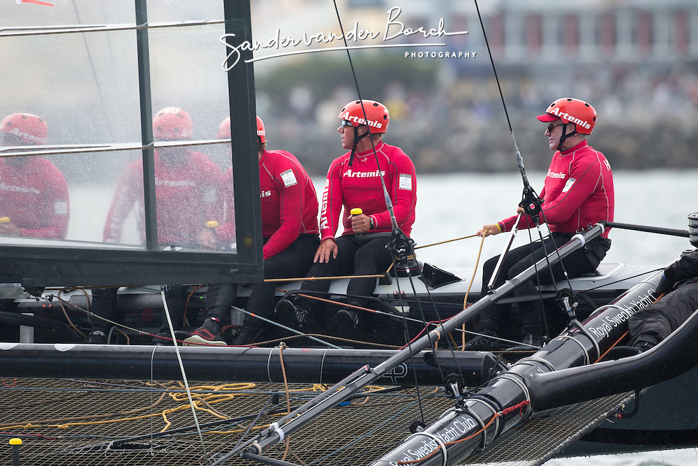 Matchrace Quarterfinals, Thursday October 4th. AC45 World Series San Francisco (Oct. 2-7).