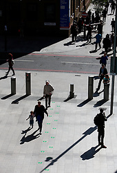 UK ENGLAND LONDON 21APR15 - People walk on ground level at London Bridge Statuion, the base of the Shard. The Shard London is an 87-storey skyscraper in Southwark, London, that forms part of the London Bridge Quarter development. <br /> <br /> Standing 306 metres high, the Shard is currently the tallest building in the European Union.<br /> <br />  <br /> <br /> jre/Photo by Jiri Rezac<br /> <br /> <br /> <br /> © Jiri Rezac 2015