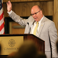 Thomasville Alabama Mayor Shelton Day discusses how he used some of the ideas he learned from Tupelo over 20 years ago to help tranform his town iin Southwest Alabama at Thursday's annual CREATE State of the Region.