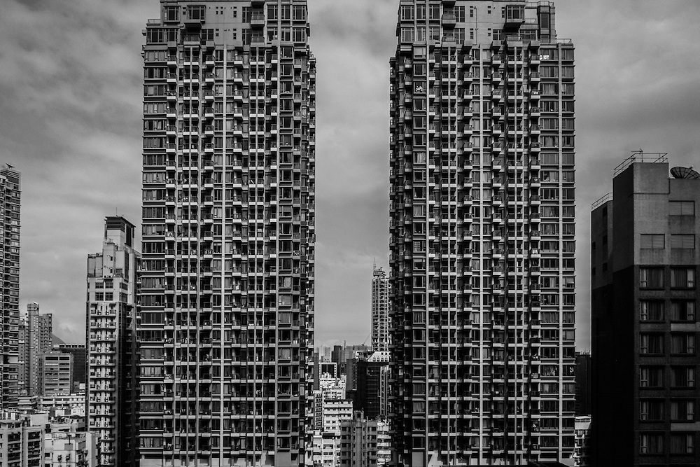 Hong Kong, 06/04/2016. Kowloon, Tai Kok Tsui Rd.