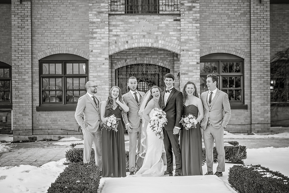 Megan & Mitch, Winter Hacienda Wedding