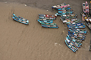 Fishing boats<br /> New Amsterdam<br /> East GUYANA<br /> South America