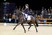 Noa van Rijbroek - Vrbgroup's Black Magic<br /> Indoor Brabant 2017<br /> © DigiShots
