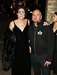 February 18, 2019 - London, United Kingdom - Kyle De Volle and Fat Tony attends the Fabulous Fund Fair as part of London Fashion Week event. (Credit Image: © Brett Cove/SOPA Images via ZUMA Wire)