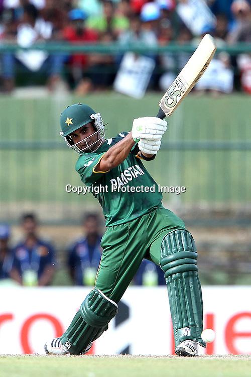 Imran Nasir during the ICC World Twenty20 Pool match between Pakistan and New Zealand held at the  Pallekele Stadium in Kandy, Sri Lanka on the 23rd September 2012<br /> <br /> Photo by Ron Gaunt/SPORTZPICS/PHOTOSPORT