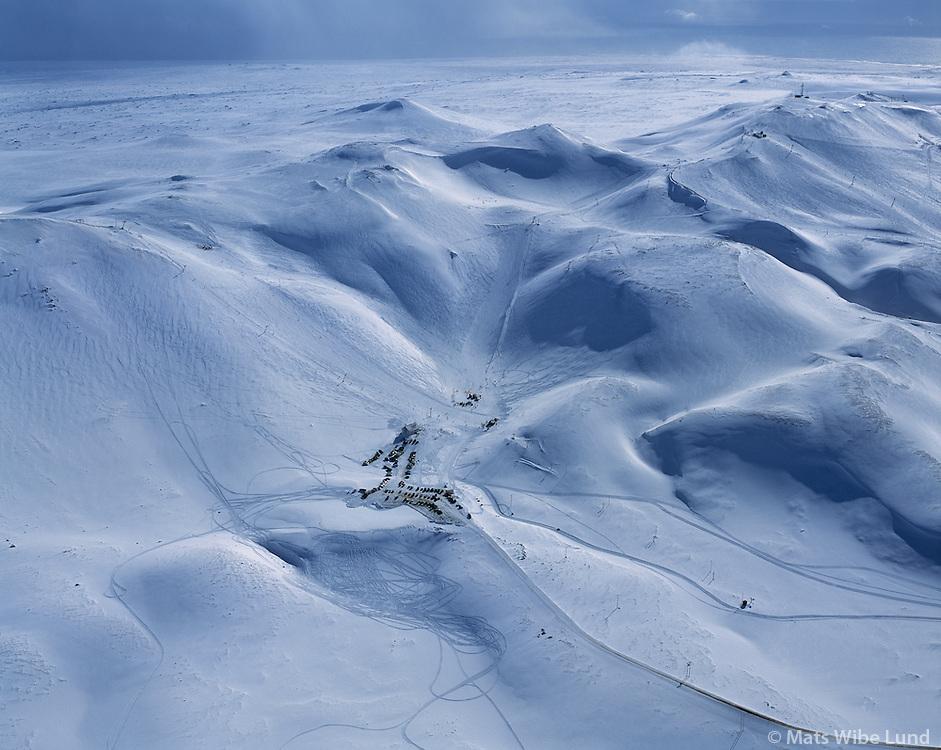 Bl&aacute;fj&ouml;ll sk&iacute;&eth;asv&aelig;&eth;i , Reykjav&iacute;k<br /> Blafjoll skiing resort, Reykjavik