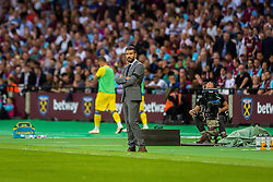 Luka Elsner, head coach of NK Domzale during 2nd Leg football match between West Ham United FC and NK Domzale in 3rd Qualifying Round of UEFA Europa league 2016/17 Qualifications, on August 4, 2016 in London, England.  Photo by Ziga Zupan / Sportida