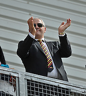 Owner Marc Green of Bradford Bulls celebrates during the First Utility Super League match at Odsal Stadium, Bradford<br /> Picture by Richard Land/Focus Images Ltd +44 7713 507003<br /> 01/06/2014