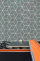 """Интерьерная фотосъемка пространства сети кафе-ресторанов """"Dinners"""", Киев. Фрагмент мебели."""