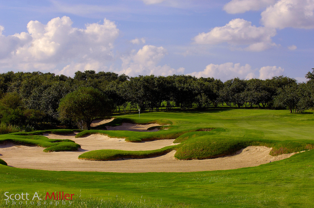 September 7, 2007, San Antonio, Texas; Hole No. 14 at the Briggs Ranch Golf CLub...                ©2007 Scott A. Miller
