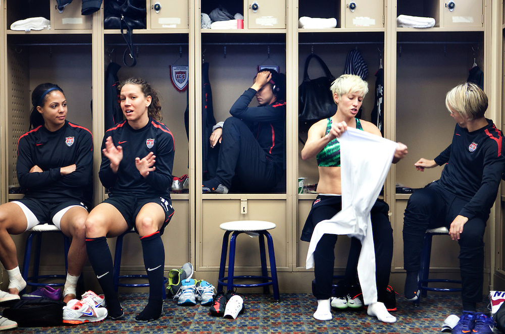 The U.S, Women's National soccer team is in Frisco, Texas for a game against New Zealand.
