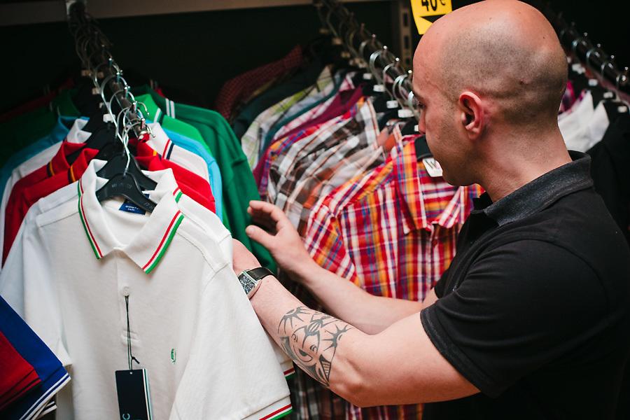 Upbeat, tienda de tendencia considerada una de las principales referencias en Malasaña, está especializada en música alternativa y moda urbana.