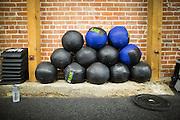 CrossFit program at ThirdSpace Fitness in San Jose, California, on July 6, 2015. (Stan Olszewski/SOSKIphoto for Content Magazine)