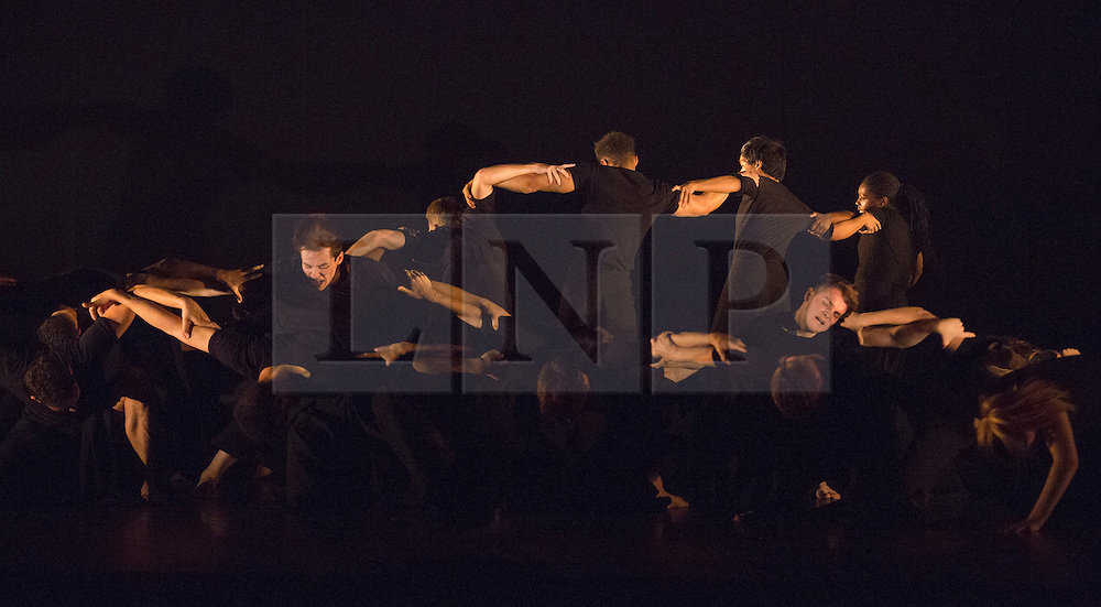 © Licensed to London News Pictures. 03/09/2015. London, UK. The Rashomon Effect choreographed by Akram Khan. 125 young dancers perform at the new annual Apex Rising Festival at Sadler's Wells organised by the National Youth Dance Company. Photo credit : Bettina Strenske/LNP