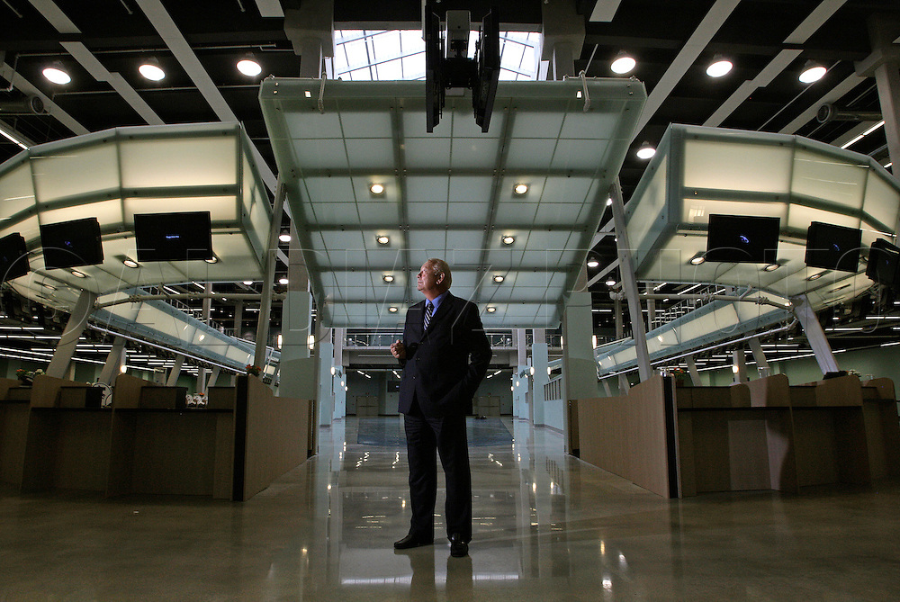 Port Everglades Director Phil Allen at Cruise Terminal 18 in Fort Lauderdale. The port has been signing pacts with major cruise lines that position it to pass Miami in cruise passengers by 2011. Terminal 18 is a state of the art 75 million dollar facility in                                     Broward County.