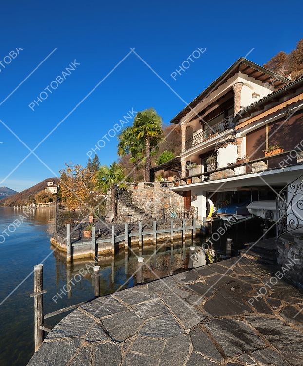 beautiful house with private pier, outdoors