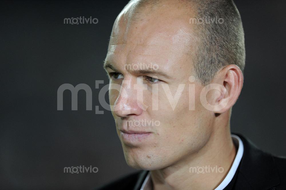 FUSSBALL  INTERNATIONAL   SAISON 2010/2011   13.08.2010 FC Bayern  Muenchen  - CF Real Madrid  Arjen Robben (FC Bayern Muenchen)