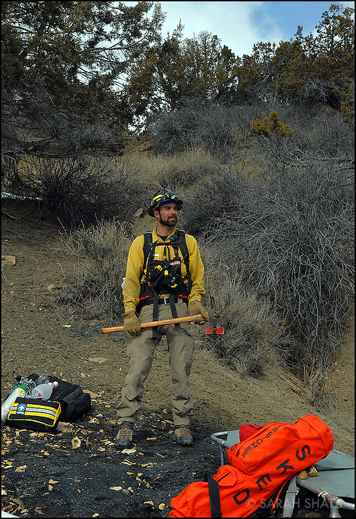 "Michael ""Kale"" Casey, wildfire paramedic"