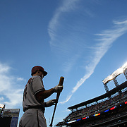 Paul Goldschmidt, Arizona Diamondbacks, heads out to bat during the New York Mets Vs Arizona Diamondbacks MLB regular season baseball game at Citi Field, Queens, New York. USA. 10Th July 2015. Photo Tim Clayton