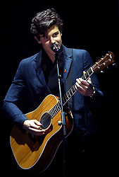 Shawn Mendes on stage during the MTV Europe Music Awards 2017 held at The SSE Arena, London. Photo credit should read: Doug Peters/EMPICS Entertainment