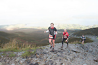 08/11/2014 repro free Aisling Flanagan , Mullingar  on Croagh Patrick who took part in the Sea 2 Summit adventure race in Westport Co. Mayo. Photo:Andrew Downes