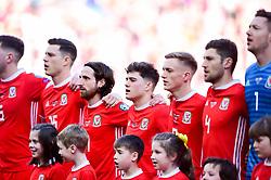 Daniel James of Wales prior to kick off - Mandatory by-line: Ryan Hiscott/JMP - 24/03/2019 - FOOTBALL - Cardiff City Stadium - Cardiff, United Kingdom - Wales v Slovakia - UEFA EURO 2020 Qualifier